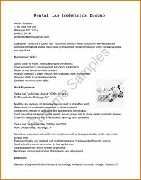 6 Dental Technician Resume Grittrader
