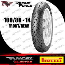 Pirelli Angel Scooter Tire 100 80 14 Front Rear