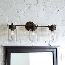 rustic bathroom lighting farmhouse light fixtures rustic