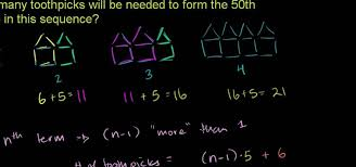 how to find how many toothpicks will be needed to form the nth figure in a sequence
