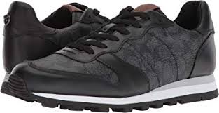 Coach Sneakers Size Chart Coach Mens C118 Signature Runner