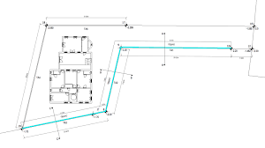 1st wall ta1 has a length of 30m 2nd wall ta2 has a length of 18m 3rd wall ta3 has a length of 23m