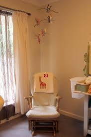 preparing for the baby room baby room idea using white rustic glider rocking chair designed