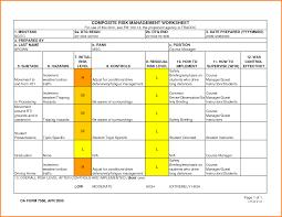 Risk Assessment Form Sample Army Risk Assessment24png LetterHead Template Sample 23