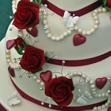 heart shaped wedding cakes pictures. valentine love heart wedding cake sugar roses, edible pearls and diamantes shaped cakes pictures