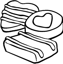 Small Picture Chocolate Chip Cookie Coloring Page Cookie Pinterest