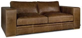 indigo furniture big one leather sofa aged saddle leather