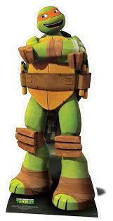 ninja turtles michelangelo. Modren Ninja Michelangelo Teenage Mutant Ninja Turtles Lifesize Cardboard Cutout For N