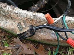 septic pump wiring outlet septic image wiring diagram splice or replace entire wire septic pump electrical diy on septic pump wiring outlet