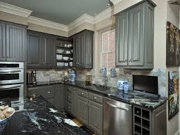 Painted Kitchen Cabinets Kitchen Awesome Light Grey Painted Kitchen Cabinets Images With