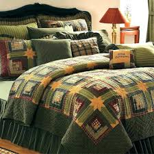 log cabin bedding sets rustic quilt green twin queen cal king size quilts bedspreads t quilts rustic quilt bedding