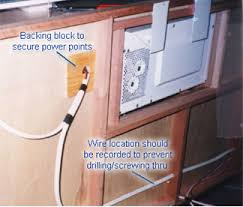 traditional electrical installation guide caravansplus guides Wiring 240v Power Cable 240v sheathed wire can run through the walls where timber wall studs are 19mm square (photo shows a camper trailer wall which are 42 x 19mm) some stepping Twist Lock Power Cable Wiring