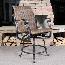 awesome counter height patio set home decorating concept florence woven counter height