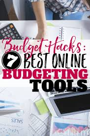Budget Online Budget Hacks 7 Best Online Budgeting Tools The Busy Budgeter