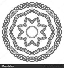 Viking Patterns Enchanting Celtic Ornament Viking Pattern Elements Ornaments Stock Vector