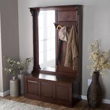 Build Your Own Coat Rack Entryway Storage Bench with Coat Rack Mirror Home Improvement 100 89