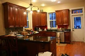 Yellow Paint Colors For Kitchen Contemporary Paint Colors That Go With Dark Brown Kitchen Cabinets