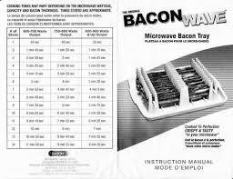 Emson Bacon Wave Microwave Bacon Cooker Garden Lawn Maintenance