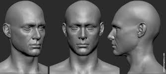 face anatomy artstation anatomy face practice juan diego lugo