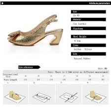 Sandals31 Size Chart Heels Size Chart Shoes