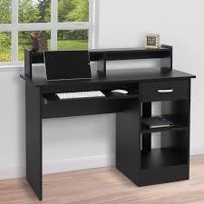 home office desk black. Graceful Black Home Office Desk 9