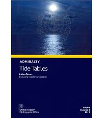 Np203 Admiralty Tide Tables Att Volume 3 Indian Ocean