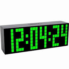 big digit led display multi function bedroom alarm clock desk clock table clock with soft night light