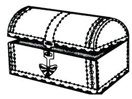 Treasure Chest Coloring Page Coloring Pages Treasure Chest Top Rated