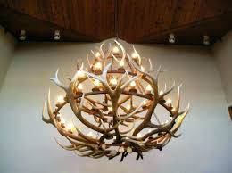attractive deer antler chandelier diy kit likable x popular antler chandelier kit