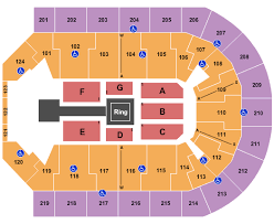 Norfolk Scope Seating Chart For Wwe Wwe