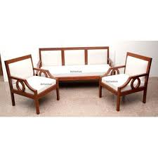 contemporary wooden sofa set in teakwood 1