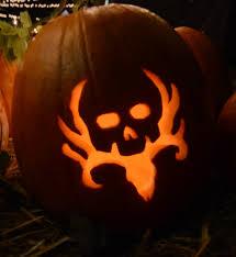 Hunting Pumpkin Carving Pattern Best Decorating