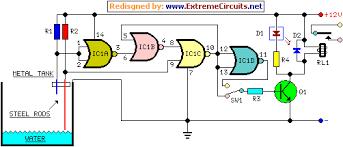 similiar water pump circuit diagram keywords water pump relay controller circuit schematic electronic circuits
