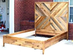 reclaimed wood bed frame – aeroportul-baneasa.info