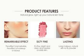 <b>FOCALLURE</b> Makeup <b>Face Blush Powder</b> Dual Use <b>Face</b> Color ...