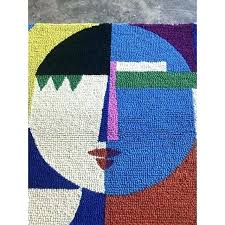 color block area rug 4 color block area rug texture and threshold x 8 delectably city