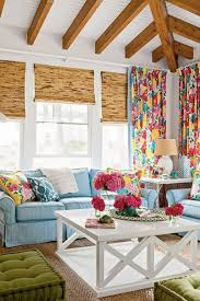 Decorations:Luxury Beach House Decorating Idea With Ceiling Lights And  Colonial Living Room Furniture Astonishing