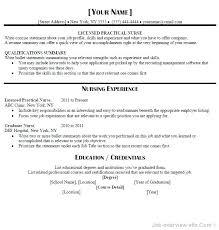 Lvn Resume Objective Gyomorgyuru Simple Resume Def