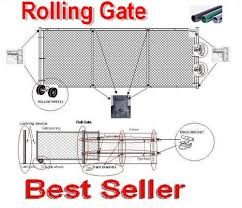 FENCE PARTS ROLLING GATES PARTS Fence Material