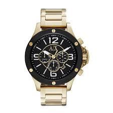 armani exchange chronograph gold tone ax1511 men s watch new armani exchange chronograph gold tone ax1511 men s watch