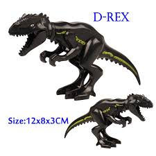 <b>Assemble Building Blocks Jurassic</b> Park Dinosaur World T Rex ...