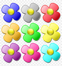 734 x 1024 jpeg 161 кб. Color Flowers Clip Art Printable Coloring Pages Free Colorful Flower Pattern Shower Curtain Free Transparent Png Clipart Images Download