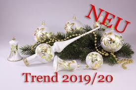 Neu 21teiliges Set Eisweiß Gold Grün Trend 20192020 Original Lauschaer Weihnachtskugeln Aus Glas