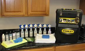 granite shield applicator starter kit for professionally sealing granite countertops includes licensing and lifetime warranty