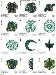 Celtic Symbol Chart Detailed Irish Celtic Symbols And Meanings Celtic Symbols