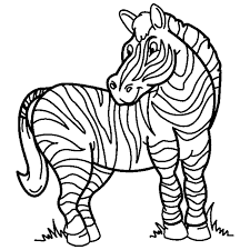 Small Picture Happy Zebra Coloring Pages Best Coloring Book 1428 Unknown