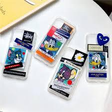 Giá bán Ốp Điện Thoại In Hình Chuột Mickey / Mèo / Vịt Donald Cho Iphone 11  Pro Max Xs 7 8 Plus Xr Se