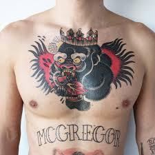 Conor Mcgregor Temporary Tattoo Set