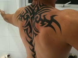 мужские татуировки на спине фото