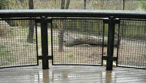 black welded wire fence. Pre-cut Welded Wire Panels - Railing Safety Black Fence Z